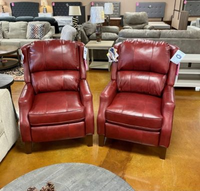 PAULEY RUBY LEATHER PUSHBACKDarseys FUrniture and Mattress Store in Grapeland texas 75844