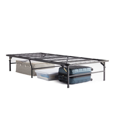 ST2214HD Structures HD Frame Twin bed frame saves money and space by eliminating the need for a box spring.