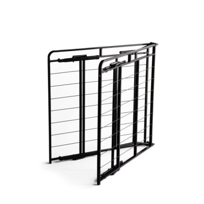 ST2214HD Structures HD Frame folded bed frame saves money and space by eliminating the need for a box spring.